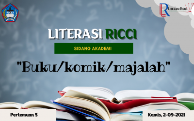 MATERI LITERASI 5 : BUKU/KOMIK/MAJALAH