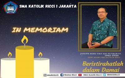 IN MEMORIAM ! Bapak Joseph Heru Eko Adi Putranto
