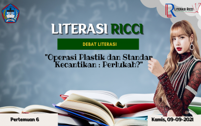 MATERI LITERASI RICCI 6 : Operasi Plastik dan Standar Kecantikan : Perlukah?