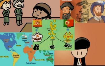 LITERASI SISWA/KOMIK/ Penjelajahan Spanyol Ke Nusantara